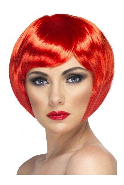 Paruka Babe červená