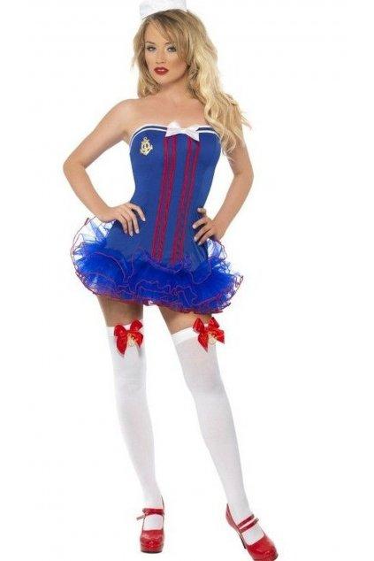 Kostým námořnice s tutu sukní