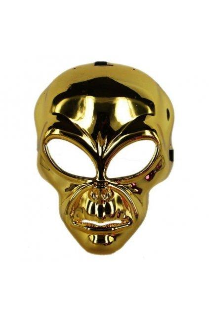 Alien zlatá maska