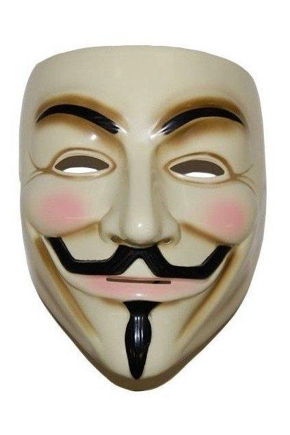 Maska Anonymous - Vendeta