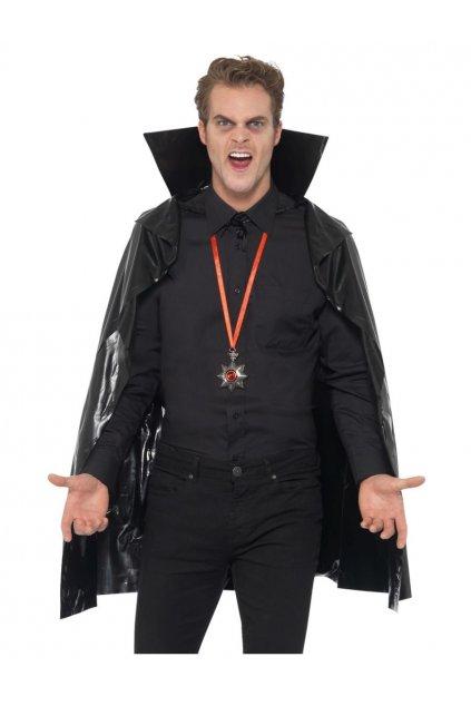 Černý upírský plášť