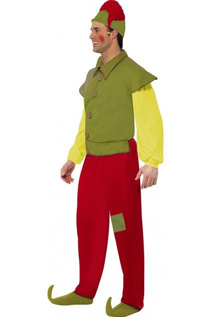 Vánoční kostým elfa
