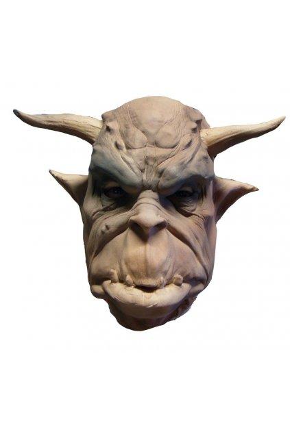 Maska čerta belzebuba - latexová maska