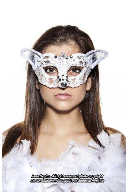 Luxusní maska orientální kočky