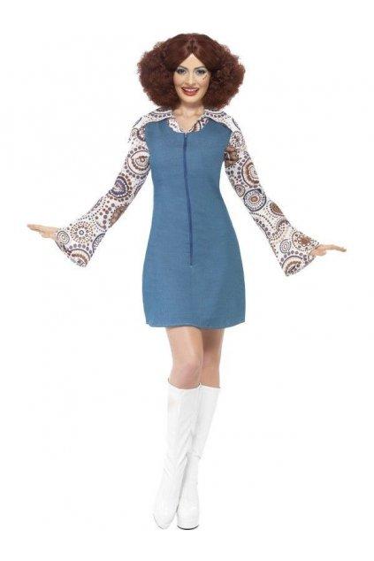 Kostým - Groovier Dancer - modrý