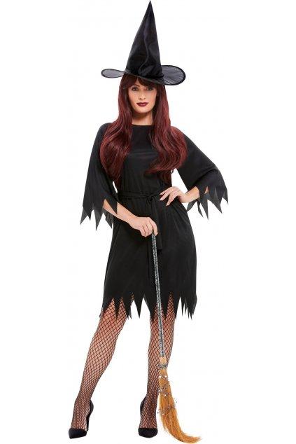 Kostým čarodějnice černá