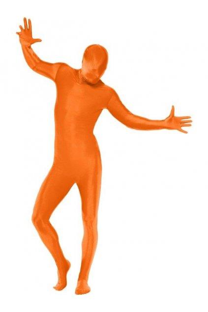 Secondskin kostým oranžový