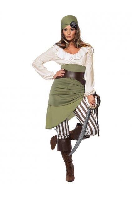 Kostým pirátka s kalhotami
