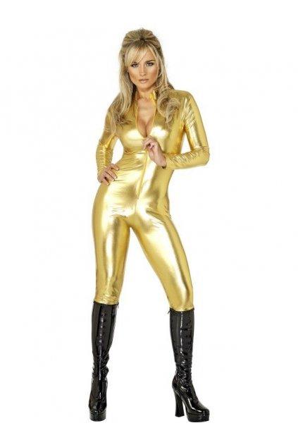 Kostým Kill Bill zlatá