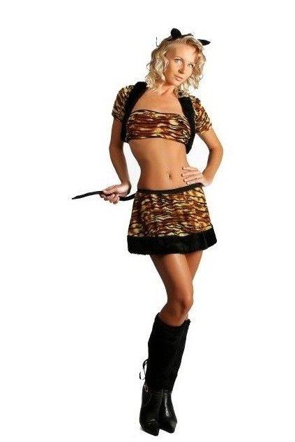 Dámský kostým tygříka
