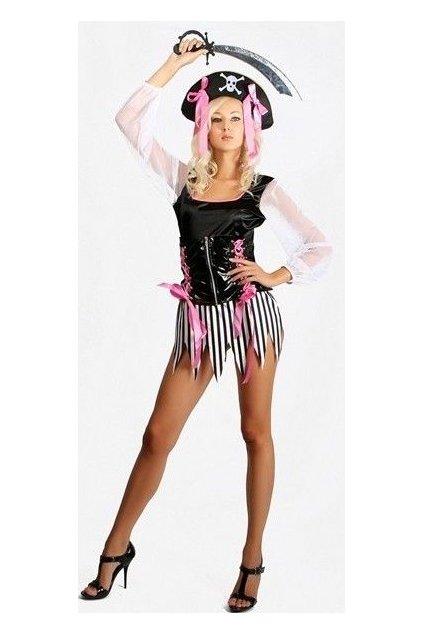 Dámský kostým pro sexy pirátku