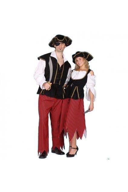 Kostým pirátka - kvalitní