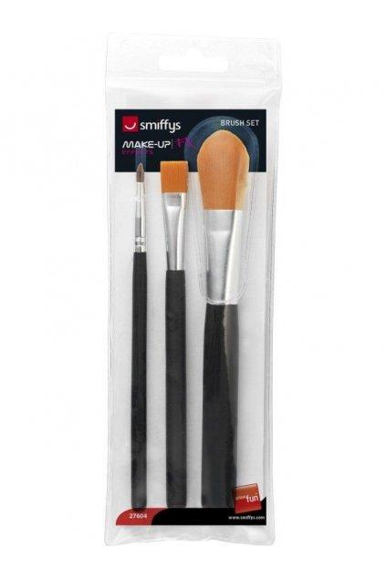 Štětec na make-up - 3 druhy