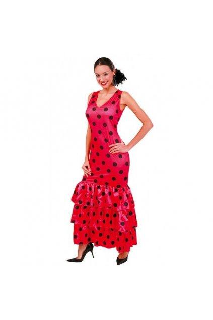 Puntíkaté šaty Španělka