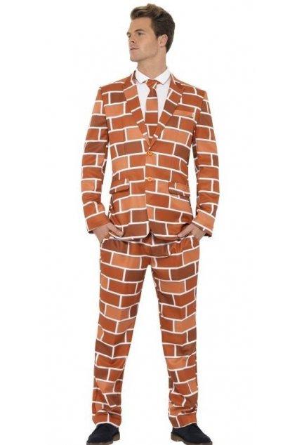 Pánský oblek zeď