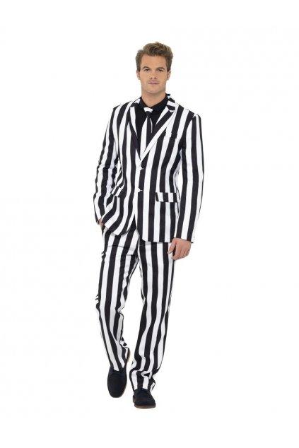 Pánský oblek pana Proužka