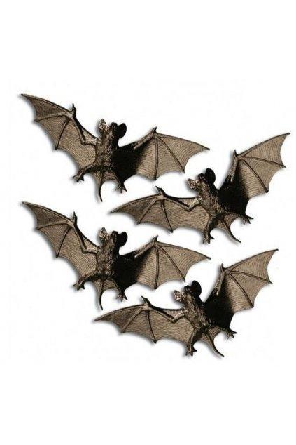 Dekorace netopýři 8 kusů