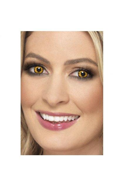 Twilight - žluté kontaktní čočky