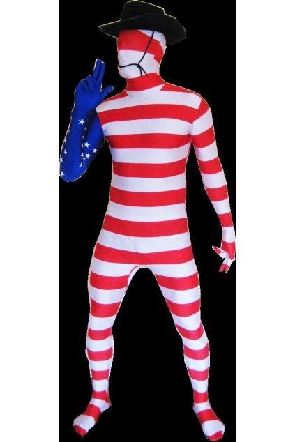 USA vlajka - Morphsuit