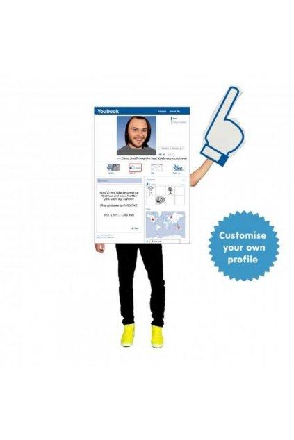 Facebook - digitální kostým sociální sítě