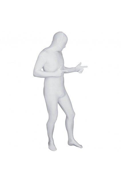 Bílý morphsuit - druhá kůže