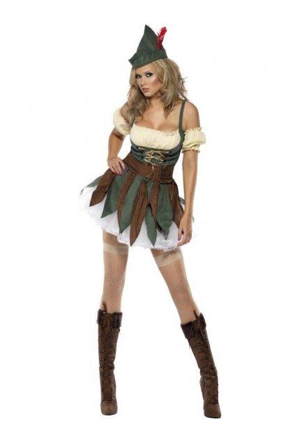 Kostým Robin Hood dámský