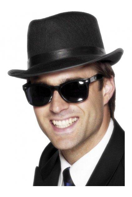 Černé brýle blues