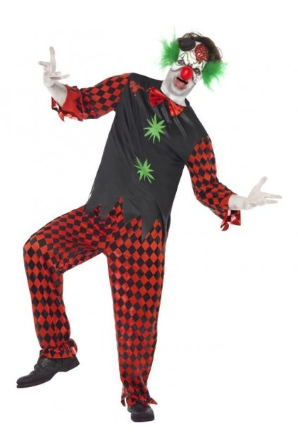 Kostým klaun crazy