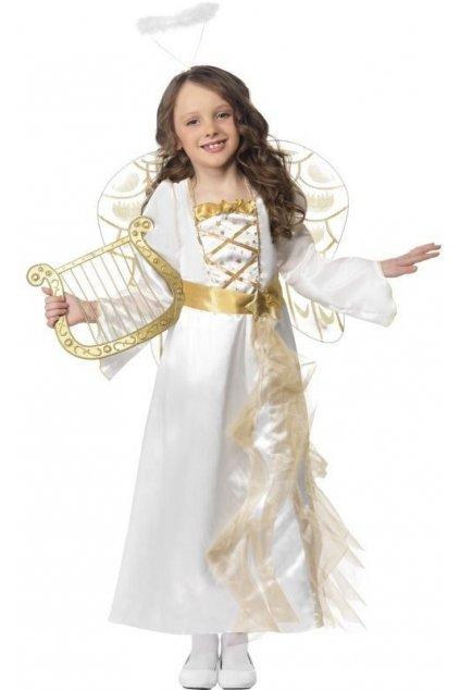 dětský kostým andělská princezna