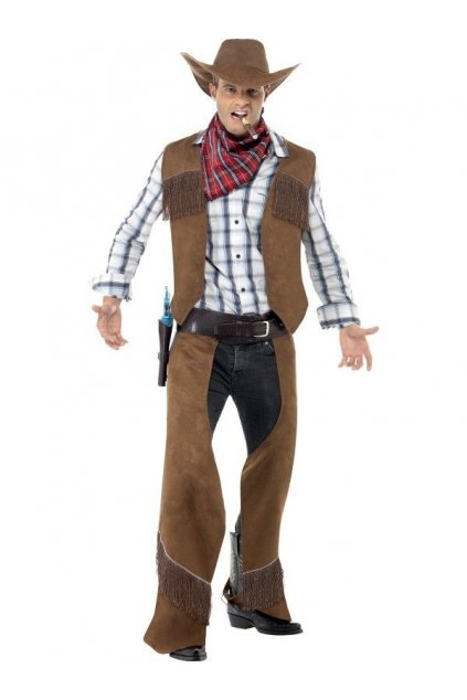Kovbojský kostým s šátkem