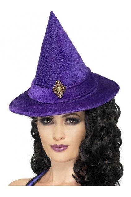 Klobouk Čarodějnice fialový