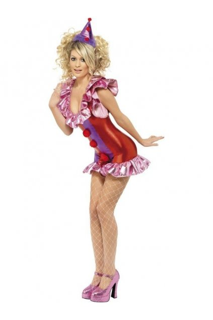 Kostým klauna - sexy dámský