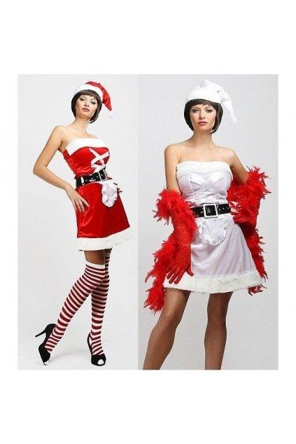 Kostým vánoční kráska 2v1