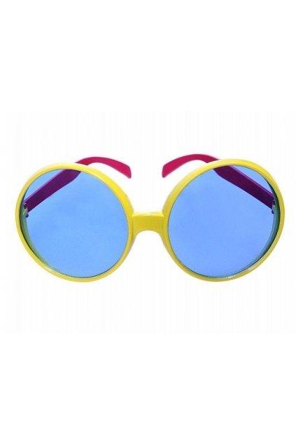 Hippies brýle velké