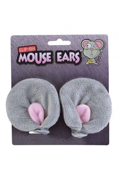 Ouška pro myšku na sponkách