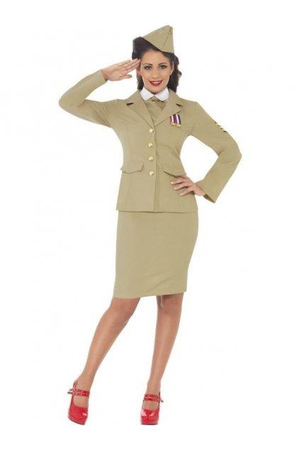 Kostým Retro officer woman