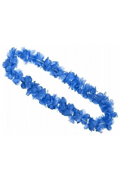 Havajský věnec - modrý