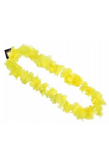 Havajský věnec - žlutý