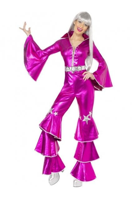 Kostým ABBA - růžová