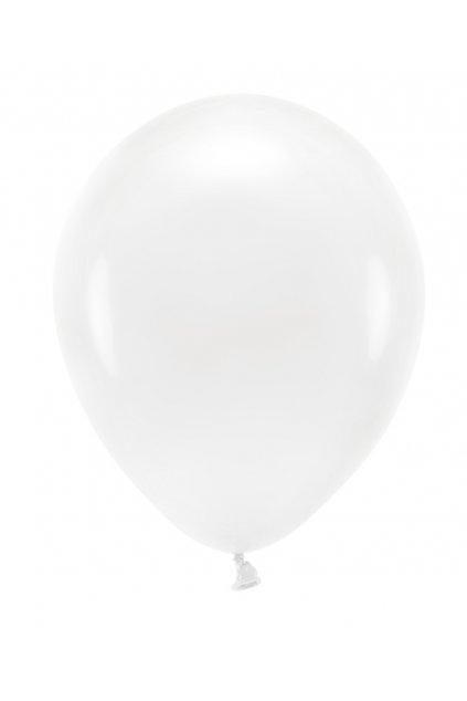 Nafukovací balónek bílý - 27 cm