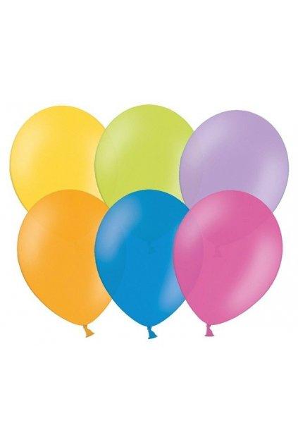 Nafukovací balónek - mix barev - 23cm -100ks