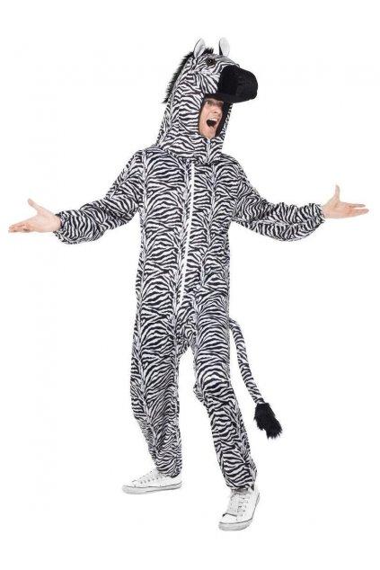 Kostým overal Zebra