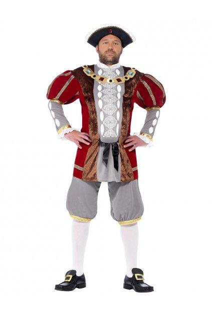 Historický kostým Král Henry VIII Deluxe