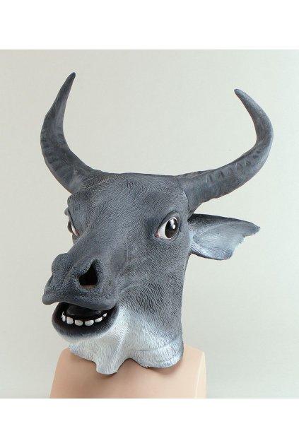 Celohlavová maska kráva