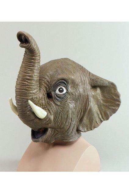 Celohlavová maska slon