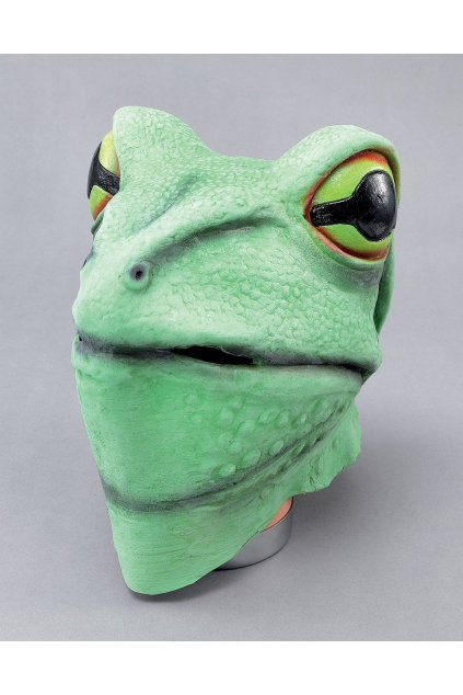 Maska žáby - celohlavová