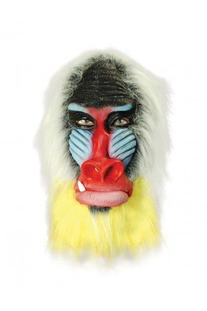 Maska opice - pavián