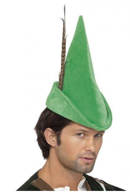 Klobouk - Robin Hood DELUXE