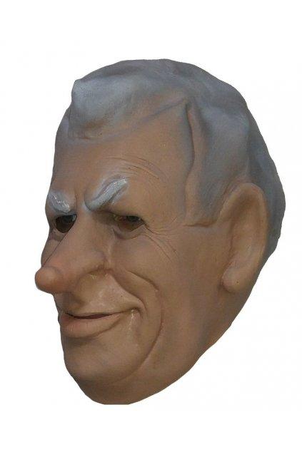 Miloš Zeman - latexová maska