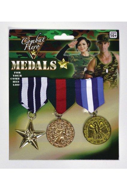 Vojenské medaile - ocenění